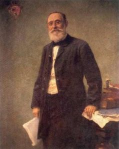Rudolf Virchow in 1861, two years after he published Cellular Pathology.  Image from Wikipedia Commons.